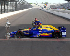 ALEXANDER ROSSI 2016 INDIANAPOLIS INDY 500 WINNER 8x10 PHOTO #4