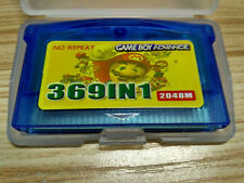 369 in 1 Game Boy Advance Game Cartridge w/ Battery Save - Pokemon Mario Contra