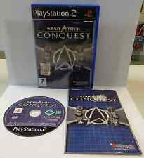 Console Gioco Game SONY Playstation 2 PS2 PAL Play STAR TREK CONQUEST Bethesda