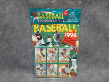 1996 Major League Baseball Card Panini 246 Stickers Set & Album SEALED Fleer