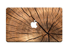 """Wood Rubberized Hard Case cover For 2016 Macbook PRO 13"""" A1708/A1706(Touch Bar)"""