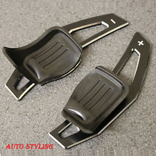 Aluminium métal noir paddle shift extension dsg vw golf 5 MK5 6 MK6 gti R32 P1ab