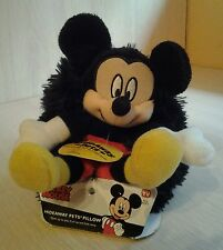 "Disney Mickey Mouse Hideaway Pets Pillow 5"" Plush NWT for all ages"