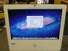 "17"" Apple iMac A1195  All-in-One Core 2 Duo 1.83GHz 1GB 160GB APX OSX 10.7 #238"