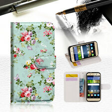 Royal Garden Wallet Case Cover For Huawei Mate 9 -- A023