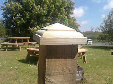 """Temple post cap for 3"""" fence posts decking tops"""