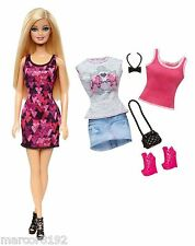 Barbie Life in the Dreamhouse Doll W/ Fashions Outfits Shoes Giftset New