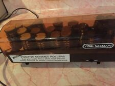 Vidal Sassoon Positive Contact Rollers W/Clips Hot Roller Hairsetter Curlers