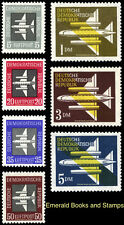 EBS East Germany DDR 1957 Airmail Luftpost 609-615 MNH**