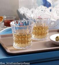 Yujing Ophelia Cut Glasses (300 ml, Clear, Pack Of 6)