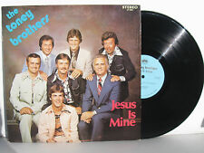 THE TONEY BROTHERS Jesus Is Mine vinyl LP QCA 1902 southern gospel M-