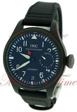 IWC Big Pilot's Watch TOP GUN Black Ceramic 48mm Automatic Black Dial IW501901