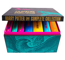 BRAND NEW HARRY POTTER ADULT HARDCOVER UK BOX SET, ALL 7 BOOKS NEW