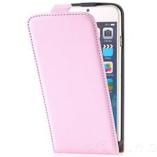 Magnetic Leather Case Flip Pouch Slim Cover for iPhone 4 4s 5 5s 5c 6 6s Plus SE