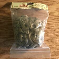 Vintage Tallina's Doll Supplies Doll Wig Style 1 Size 8 Lt Blond Curly Hair