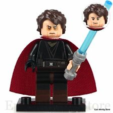 Custom Anakin Skywalker Sith Minifig Star Wars fits with Lego pg682 UK Seller