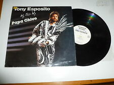 TONY ESPOSITO - As Tu As - Papa Chico - 1987 Italy 10-track vinyl LP