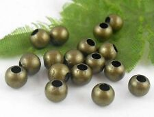 200Pcs Bronze Plated (Lead-Free)Round Spacer Beads Findings 6mm