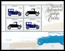 Automobilmuseen. Renault (1911), Ford Modell T (1927). Block. Portugal 1992