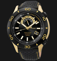 NEW MEN'S SEIKO SUPERIOR LIMITED EDITION 24 JEWEL AUTOMATIC WATCH SSA188K1