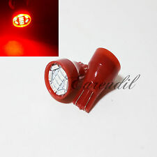 T15 Red LED Chip 9 SMD 2x Xenon Bulb #Nr7 T10 Parking License Plate Stop Brake