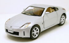 "Kinsmart Nissan FairLady 350Z 1:34 scale 5"" diecast model car New Silver K78"