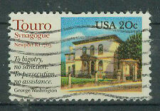 Briefmarken USA 1982 Touro- Synagoge Mi.Nr.1598