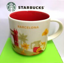 Starbucks You Are Here City BARCELONA, Collection Serie YAH, 14oz new Mug, SPAIN