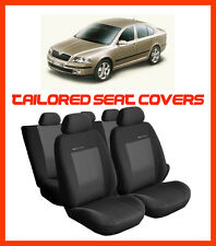 TAILORED SEAT COVERS for SKODA OCTAVIA  2004-2013  Full set grey3 (112a)