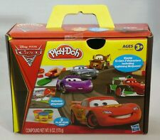 DISNEY PIXAR CARS 2 Play-Doh Fun Set Lightning McQueen Play Dough Hasbro Gift