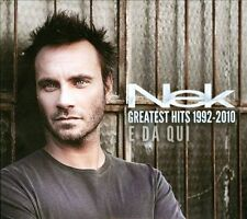Nek Greatest Hits 1992-2010: E Da Qui by Nek *New CD*