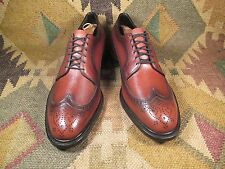 NEW Vintage Custom Grade Copeg By Scholl Dress Wing Tips 12.5 D made in USA