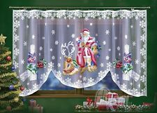 Jardiniere Net Curtain Interior design home decoration CHRISTMAS SANTA CLAUSE