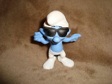 "2013 Mcdonalds Happy Meal Toy Smurf Smooth 3"" tall"