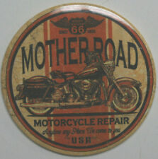 Fridge Freezer Ice Tool Box Magnet route 66 mother road motorcycle shop repair