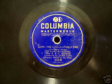 ANTIQUE COLUMBIA RECORD  HARK! THE HERALD ANGELS SING