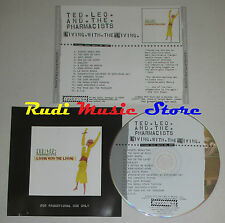 CD TED LEO AND THE PHARMACISTS Living with PROMO 2007 TOUCH & GO lp mc dvd
