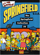 Simpsons 4/Springfield Collection IV/en blanco sticker álbum/Panini/Nuevo