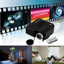 Full HD 1080P Home Theater LED Mini Multimedia Projector Cinema USB TV HDMI MT