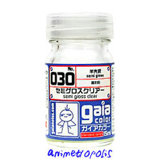 GAIA COLOR 030 Semi Gloss Clear GUNDAM PAINT 15ml