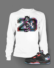 23 T Shirt To Match Air Jordan 5 Low Chinese New Year Shoe Pro Club Tee Sm- 7X