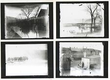 Lot of 4! Flood in DUNCANNON PA Pennsylvania Perry County ~COPY~ Photos