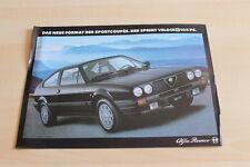 104722) Alfa Romeo Sprint 105PS Prospekt 198?