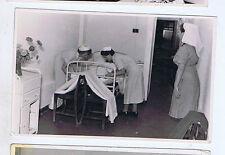 TRIPOLI HOSPITAL NURSES 1940s LIBYA ORIGINAL VINTAGE OLD REAL PHOTO POSTCARD GZ