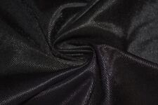 Black Athletic Dazzle Sports Mesh Tricot Knit Apparel Fabric Polyester BTY