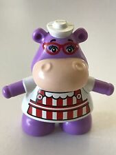 *NEW* Lego DUPLO Disney Nurse PURPLE Hippo HALLIE MCSTUFFIN