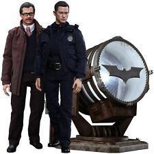 John Blake & Jim Gordon with Bat Signal 1/6 Scale Hot Toys Dark Knight Rises Set