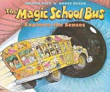The Magic School Bus Explores the Senses by Joanna Cole Paperback Book (English)