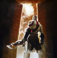 God Of War Oil Painting 28x28.  Not Giclee / Popart