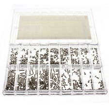 New 900Pcs Stainless Steel Tiny Screws Kit Tools For Eyeglass Watch Clock Repair